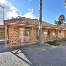 Rental info for WELL LOCATED TOWNHOUSE in the Mildura area