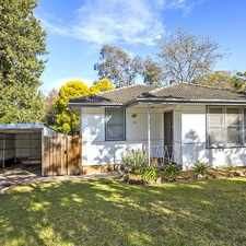 Rental info for Cosy 3 bedroom home in the Sydney area