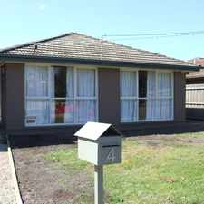 Rental info for APPLICATION ACCEPTED ON THIS PROPERTY in the Melton area