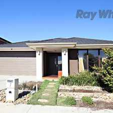 Rental info for Elegance & luxury in Williams Landing in the Melbourne area