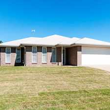 Rental info for MAGNIFICENT MIDDLE RIDGE - MADE WITH FAMILY LIVING IN MIND in the Toowoomba area