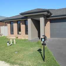 Rental info for Near New 3 Bedroom Home Livingston Estate UNDER APPLICATION in the Melbourne area