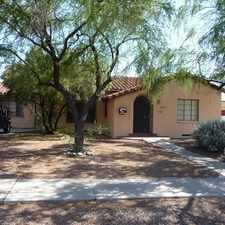 Rental info for 3 Bedroom House Near U of A! Campbell and Speedway, washer/dryer, fenced yard in the Blenman-Elm area