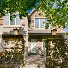 Rental info for 536 Madison Street in the Cherry Creek area