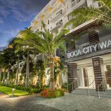 Rental info for Boca City Walk
