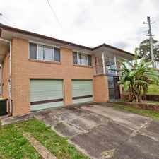 Rental info for Large Family Home in Cav Road Catchment in the Mount Gravatt East area