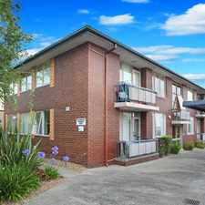Rental info for Spacious One Bedroom Apartment in the Caulfield South area