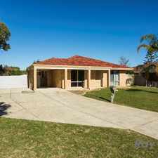Rental info for BORE - LOW MAINTENANCE- EASY CARE/GREAT FOR PETS in the Perth area