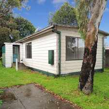 Rental info for Basic two bedroom house on large block in the Melbourne area