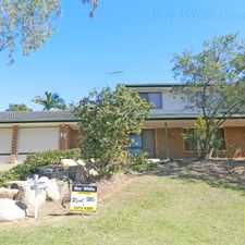 Rental info for JAMBOREE HEIGHTS. 3BED + STUDY! POOL & AIR CON. ELEVATED POSITION in the Darra area