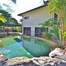 Rental info for Five bedrooms two storeys and a pool in Smithfield. in the Cairns area