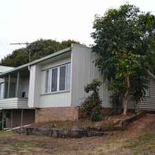 Rental info for Great deck built around a tree is a feature of this house - great views in the Yeppoon area