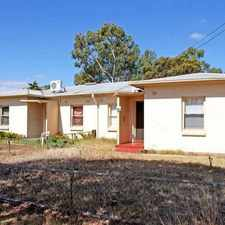 Rental info for 3 Bedroom, open plan kitchen, floorboards throughout, R/C aircon - LEASED in the Adelaide area