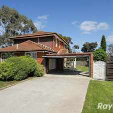 Rental info for Go with the Flow... in the Wantirna South area
