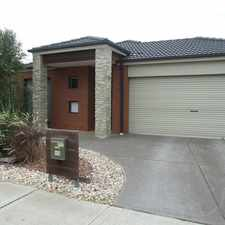 Rental info for 4 BEDROOM HOUSE IN POINT COOK in the Melbourne area