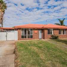 Rental info for FRESHLY PAINTED - MINUTES TO KWINANA HUB