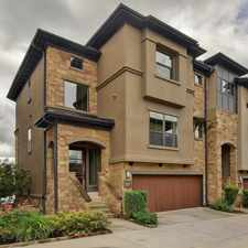 Rental info for FOR SALE - NW Hills Area Luxury Town Home w/Panoramic City Views