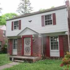 Rental info for Brick Colonial on Burgess in the Rosedale Park area