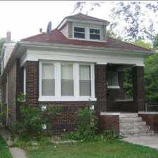 Rental info for Single family - 4 BR 1.5 BA house with Garage in the South Chicago area