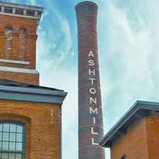 Rental info for The River Lofts at Ashton Mill