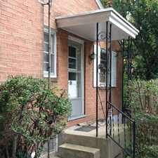 Rental info for Charming Single Family Home tucked back off with fireplace. 2 Car Garage!