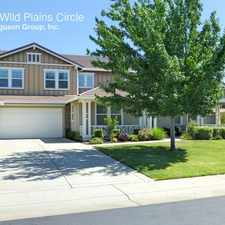 Rental info for 2240 Wild Plains Circle in the 95765 area