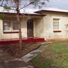 Rental info for 3 Bedroom semi, large block in the Elizabeth Vale area