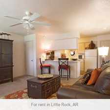Rental info for Little Rock - Spacious 1 & 2 bedroom apartments.