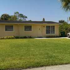 Rental info for Avail on Sept. 1st - Magnificent house - fully rehabilitated.New kitchen and two new bathrooms, very quiet street. 3 bed/2 bath. Will not last. in the Riviera Beach area