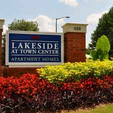 Rental info for Lakeside at Town Center