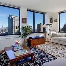 Rental info for Chambers St & River Terrace in the New York area