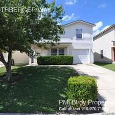 Rental info for 4511 ROTHBERGER WAY in the San Antonio area