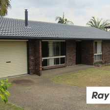 Rental info for APPEALING THREE BEDROOM HOME WITH FANTASTIC BACK PATIO in the Durack area