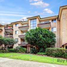 Rental info for Top Floor, Sunny Unit with Brand New Kitchen in the Arncliffe area