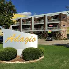 Rental info for The Adagio in the 76209 area