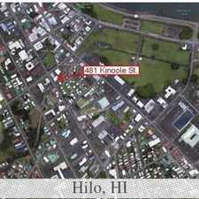 Rental info for Conveniently located in downtown Hilo. Street parking!