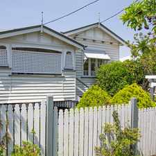 Rental info for COTTAGE STYLE FAMILY HOME in the Kelvin Grove area