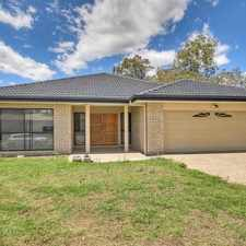 Rental info for LOVELY MODERN HOME IN BORONIA HEIGHTS in the Boronia Heights area
