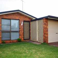 Rental info for Refreshed Unit Close To Shops, Park & USQ in the Toowoomba area