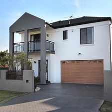 Rental info for Modern family home. in the Sydney area