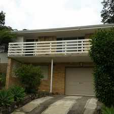 Rental info for Modern home with filtered water views in the East Gosford area