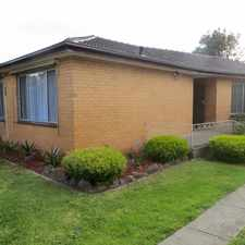 Rental info for GREAT FAMILY HOME in the Oakleigh South area