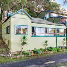 Rental info for Cute & Quiet Waterfront Cottage in the Central Coast area