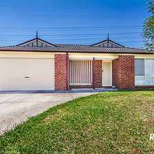 Rental info for AN INVITING HOME BUILT TO LAST in the Cranbourne area