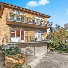 Rental info for SUNLIT TWO BEDROOM APARTMENT in the Sydney area