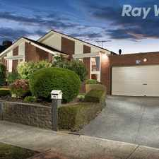 Rental info for Three Bedrooms Plus A Pool in the Melbourne area