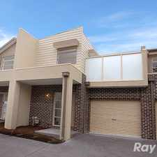Rental info for A near new townhouse in central Bayswater in the Bayswater area