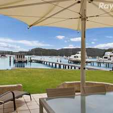 Rental info for Absolute Waterfront + Jetty Available Now