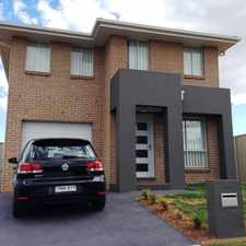 Rental info for Double Storey in the Sydney area