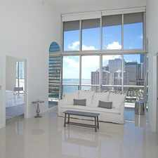 Rental info for 495 Brickell Avenue #1405
